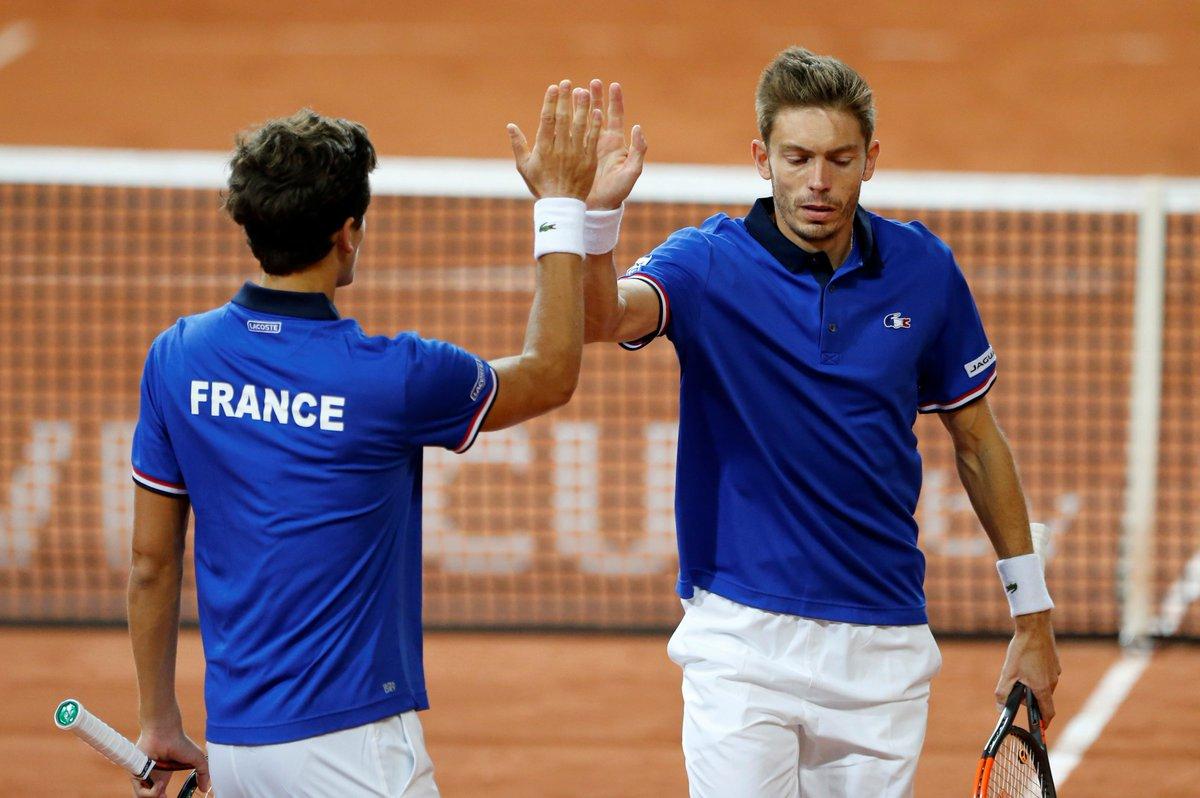 test Twitter Media - 🎾Le double Mahut-Herbert s'impose en 3 sets. La France 🇫🇷 mène 2-1 face à la Serbie. #CoupeDavis #Tennis #FRASRB > https://t.co/WmPTPj4wjr https://t.co/CUJsfBWPix