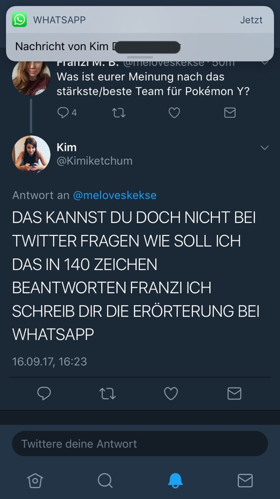 Kim On Twitter Das Kannst Du Doch Nicht Bei Twitter Fragen