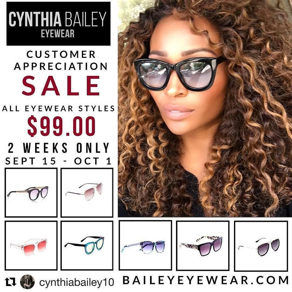 How is cynthia bailey eyewear doing