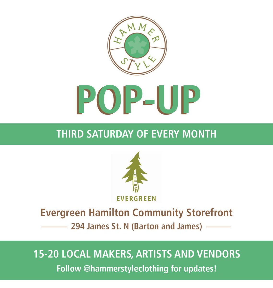 Pop by from 1-5pm today if your in the area of Barton and James N lots of unique vendors. #popupshop #handmade #repurposed #HamOnt <br>http://pic.twitter.com/7SPIXSNQY6