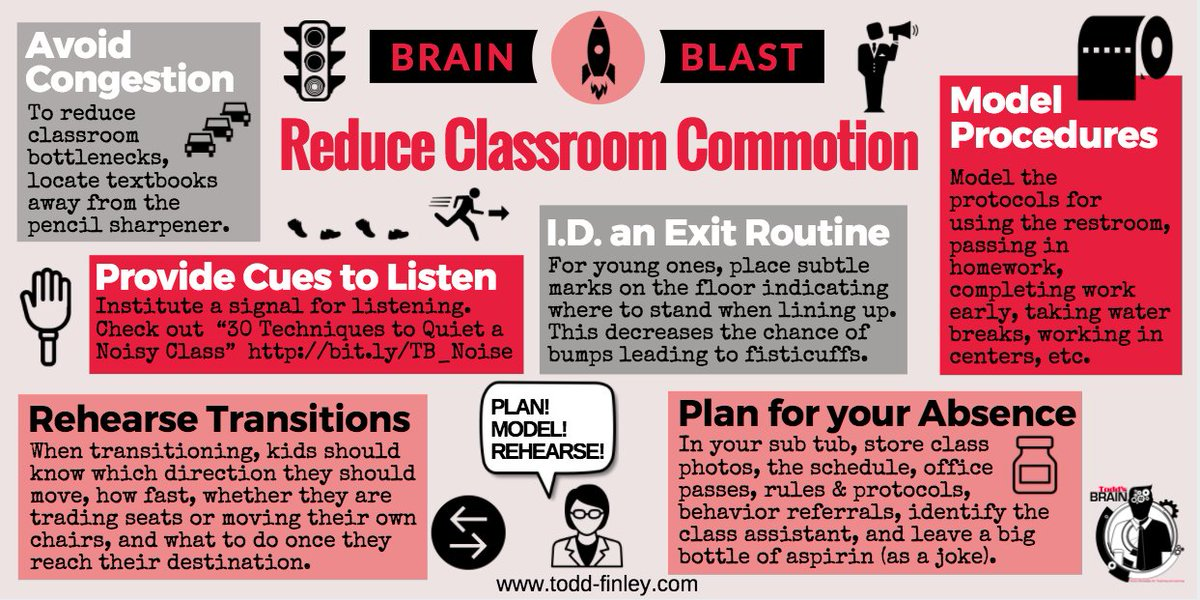 6 Ways to Reduce Classroom Commotion  #education #teachers #k12 #classmanagement #classroomdesign #edchat<br>http://pic.twitter.com/Pm2iExnrk3