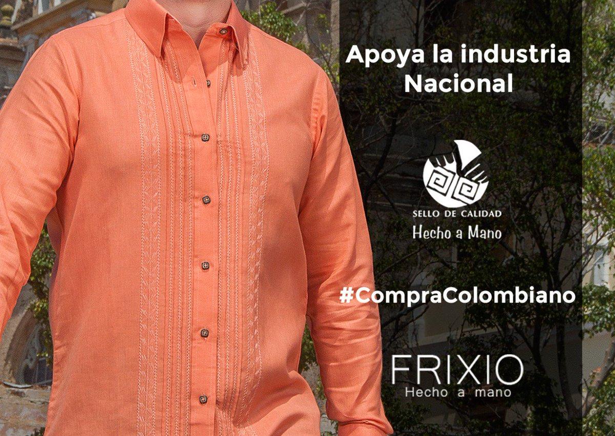 70d81e5551  EnAmorYAmistadQuiero apoyar la industria colombiana.  CompraColombiano por  que en  FrixioMasculino competimos con calidad y diseño.pic.twitter.com  ...