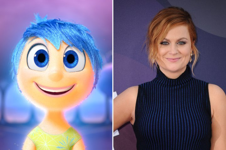 Happy 46th Birthday to Amy Poehler! The voice of Joy in Inside Out.