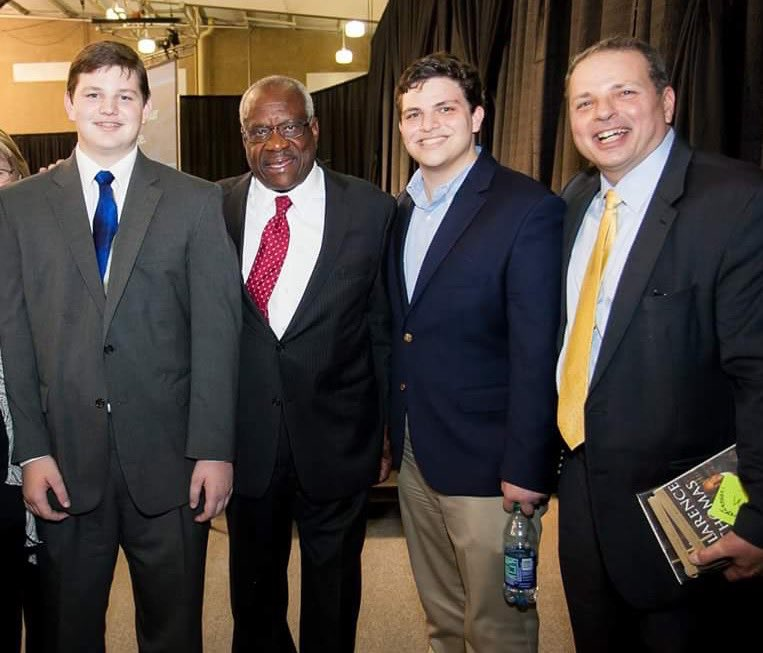 So enjoyed meeting #SCOTUS Justice #ClarenceThomas when he visited @McLennanCC  Displayed every quality of great &amp; gracious man. Thank you!<br>http://pic.twitter.com/aDBHawsC8o