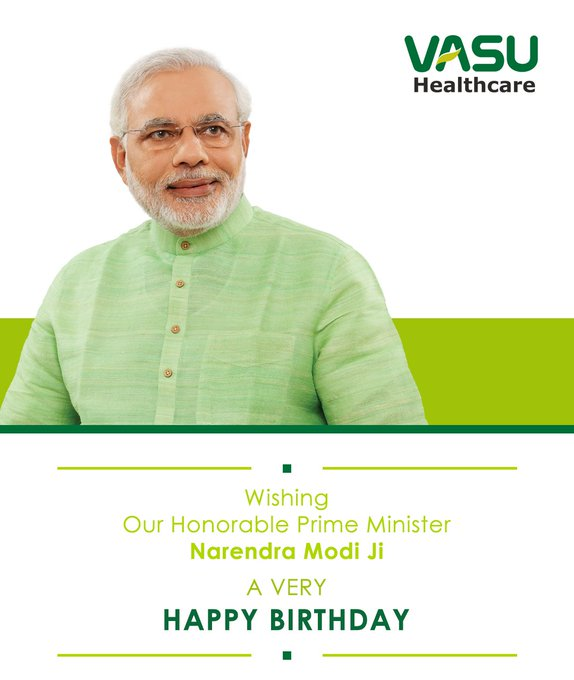 Wishing Our Honorable Prime Minister Narendra Modi ji a very HAPPY BIRTHDAY