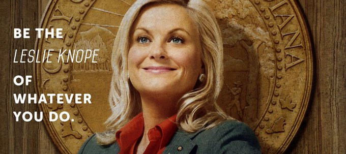 Dream big, ladies and gents! Happy birthday, Amy Poehler!