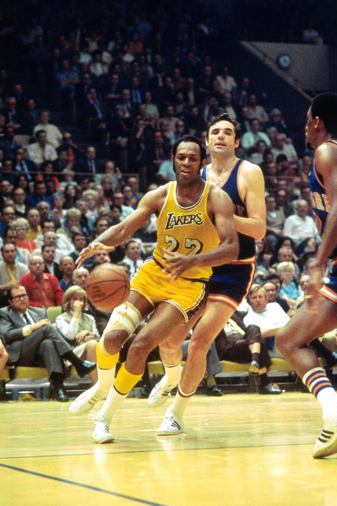 To wish Elgin Baylor a Happy Birthday!  : Wen Roberts/NBAE via Getty Images