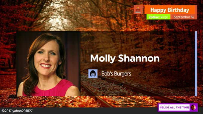 Happy Birthday to the Voice Actress for Millie Frock, Molly Shannon.