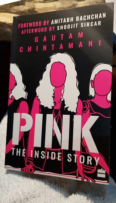 T 2549 - 'PINK' the book just arrived on my desk, fresh warm and as pertinent as the film itself ..16th Sept its first Anniversary ! A pride https://t.co/KvbmZGLKJJ