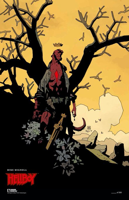 Happy birthday, Mike Mignola!   Folks, what are some of your favorite Mignola stories, artwork?