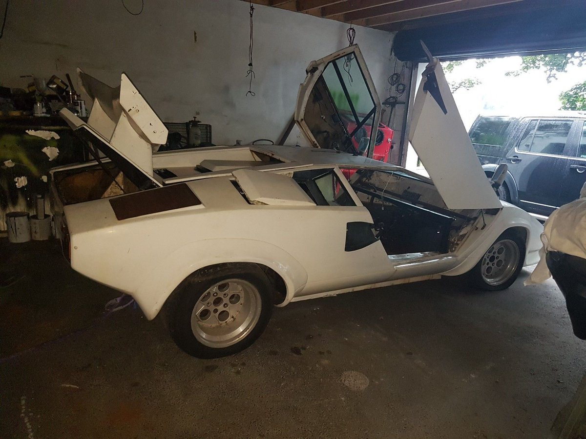 Classic Projects On Twitter Lamborghini Countach Replica Project