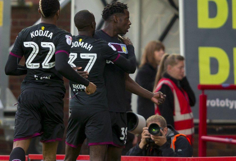 Away win  3 goals  Clean sheet  3 clean sheets in a row  6 games unbeaten   Up The Villa #AVFC <br>http://pic.twitter.com/4KKbTBRrLE