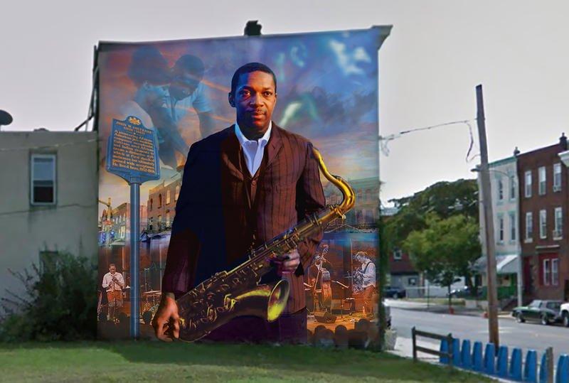 A New Mural Pays Tribute to John Coltrane in Philadelphia. ICYMI  https://t.co/Fp5R0kcVg4