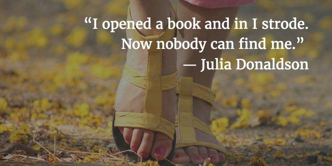 Sep 16th Happy Birthday, Julia Donaldson!