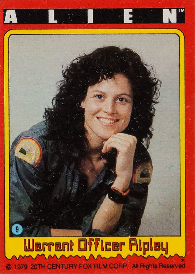 (9) WARRANT OFFICER RIPLEY … SIGOURNEY WEAVER – Movie Photo Cards #Alien 1979 <br>http://pic.twitter.com/J9u3EaqICY