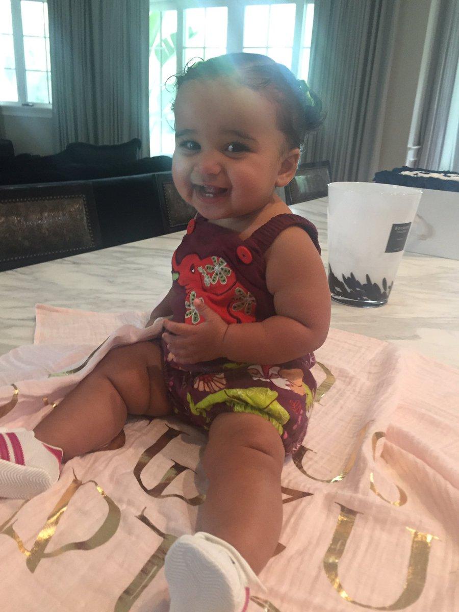 Rob Kardashian & Blac Chyna's Daughter Turns 1