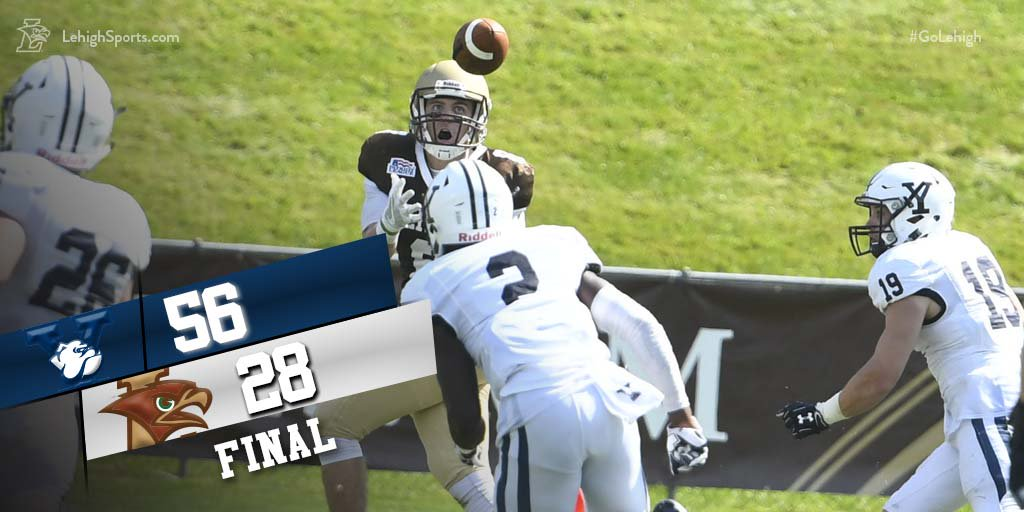QUICK RECAP: Yale Turns the Tables on Lehigh, This Time Beats Lehigh 56-28