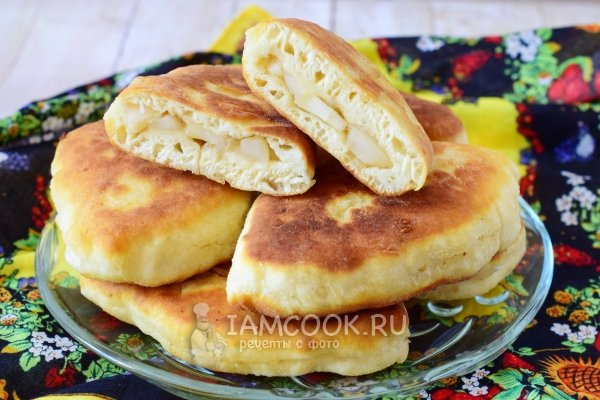 Пирожки рецепт на кефире