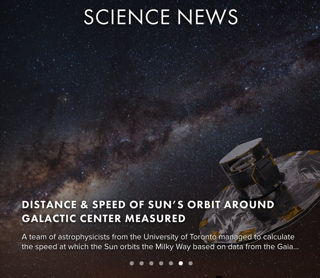Distance &amp; Speed of #Sun's #Orbit Around #Galactic Center Measured:  http:// bit.ly/2lqH1gO  &nbsp;   @ResonanceSci @TRPF_FR…  http:// dlvr.it/PnSy5Q  &nbsp;  <br>http://pic.twitter.com/uJffDNe6kC