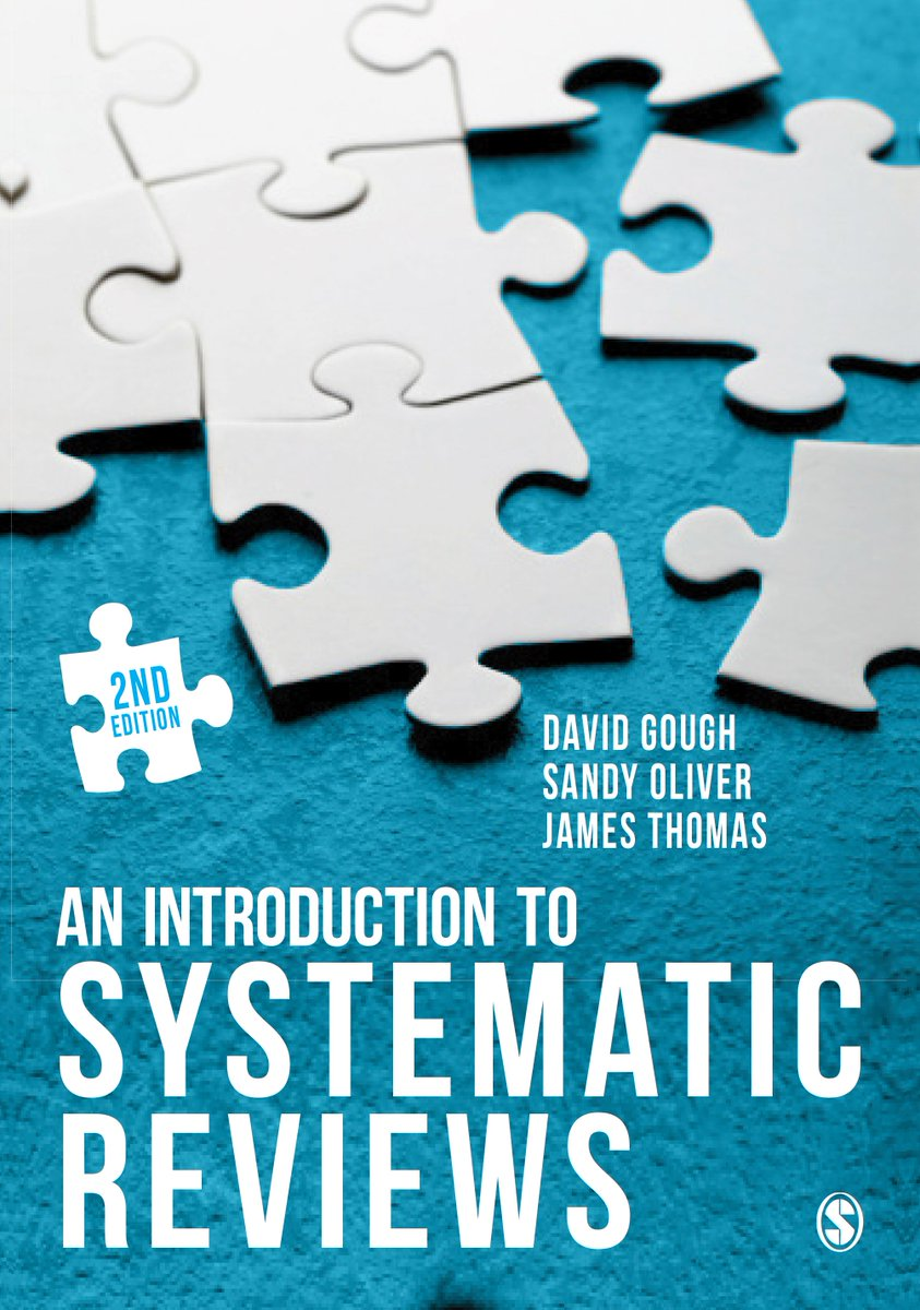 "What is a #systematicreview? Read the 1st ch. from the new 2e of ""An Introduction to Systematic Reviews"" for FREE:  http:// ow.ly/NVrd30fbA4K  &nbsp;  <br>http://pic.twitter.com/JHyl65kz34"