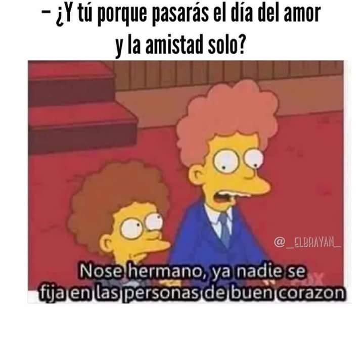 #AmorYAmistad