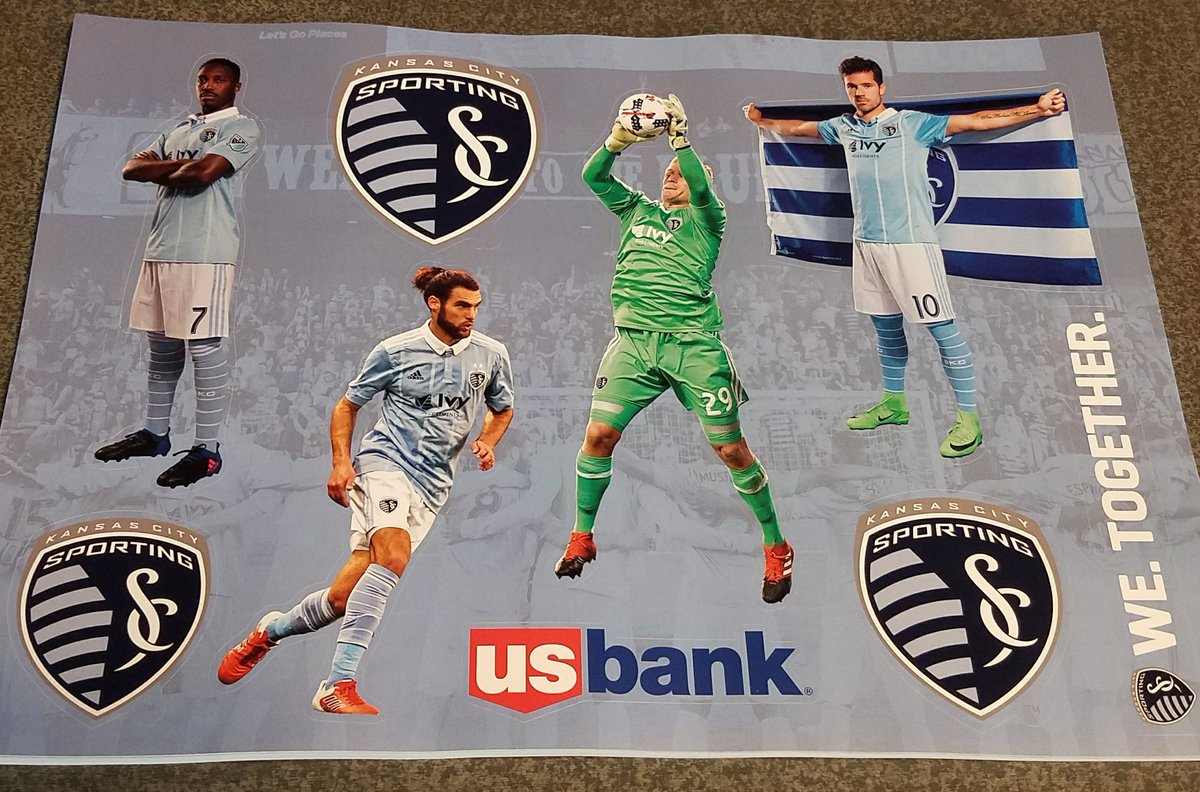 Sporting Kansas City On Twitter Be Sure To Pick Up Your - Sporting kc decals