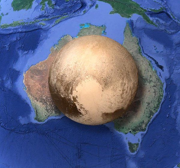 We always hear that #Pluto is a tiny planet. This #map shows just how small: Not even the size of #Australia.…  https:// buff.ly/2vZCuba  &nbsp;  <br>http://pic.twitter.com/NNqzQEoTQc