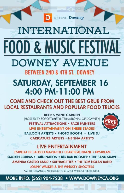 International Food And Music Festival Downey