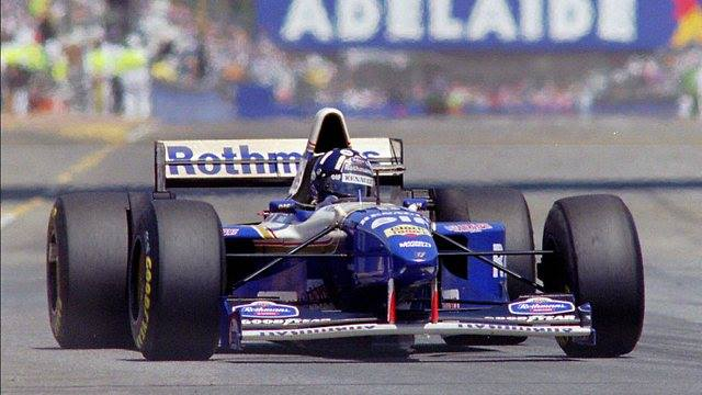 Happy 57th birthday to Britain\s Damon Hill, winner of the 1995 Adelaide Grand Prix.