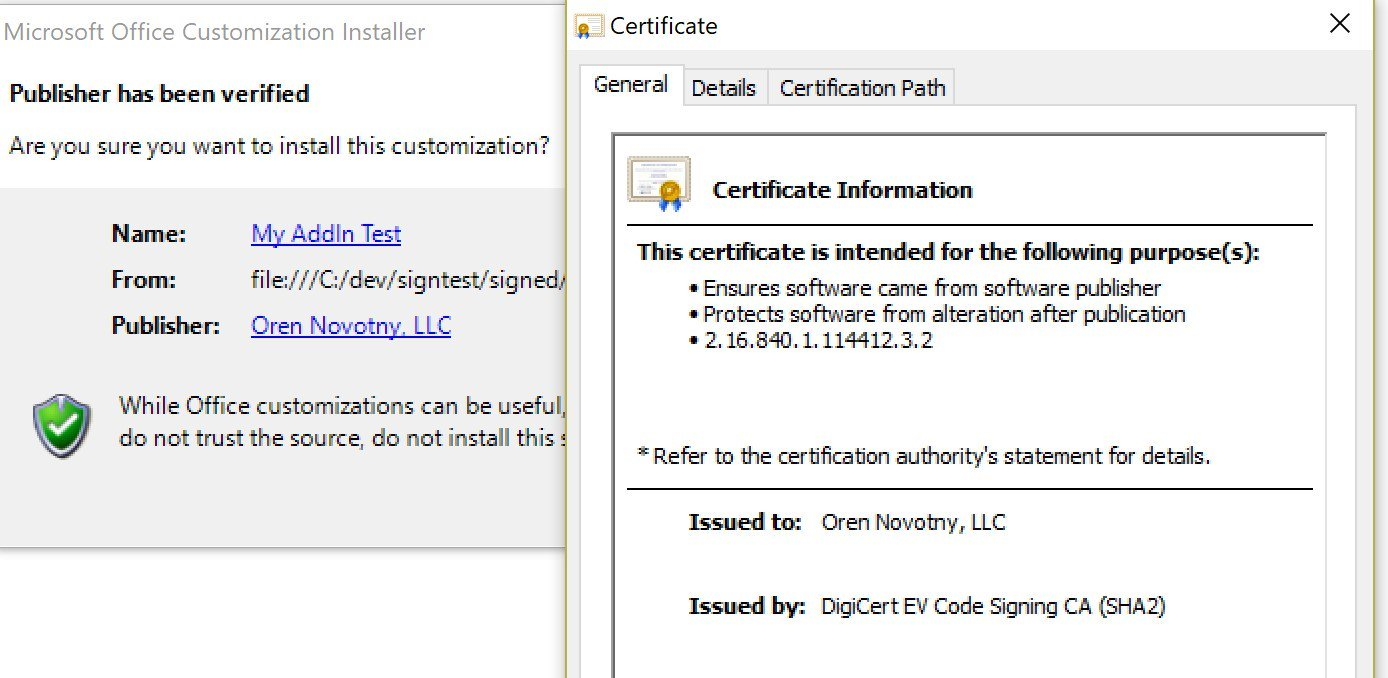 Oren novotny on twitter introducing the ability to use ev oren novotny on twitter introducing the ability to use ev certificates in key vaults hsm to sign clickonce vsto manifests httpstm9raln7fdc 1betcityfo Image collections