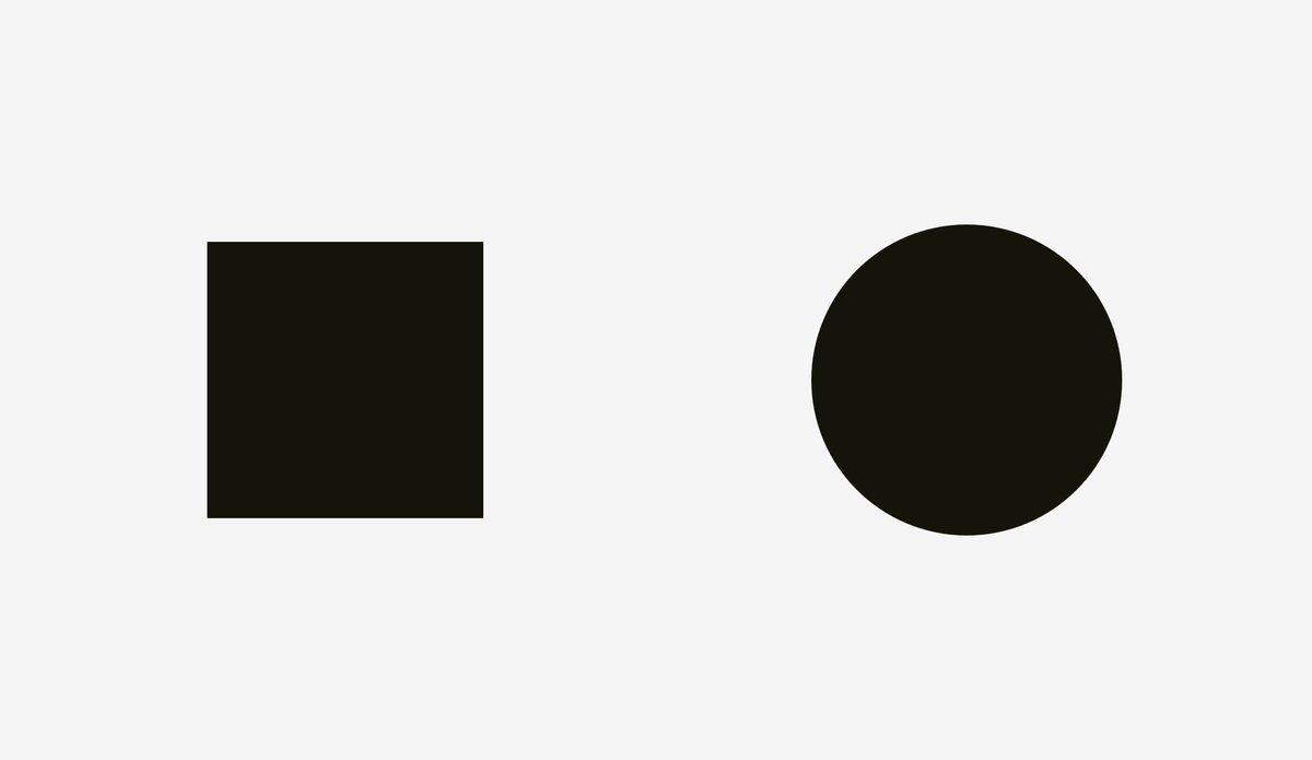 #设计入门 - UI UX 设计中的视错觉。看起来一样大的元素,实际尺寸并不相同……写得有点枯燥,另外没写色彩导致的错觉 // Optical Effects in User Interfaces (for True Nerds) https://t.co/e6iXtoWDx0 https://t.co/VqBaFiBmQe 1
