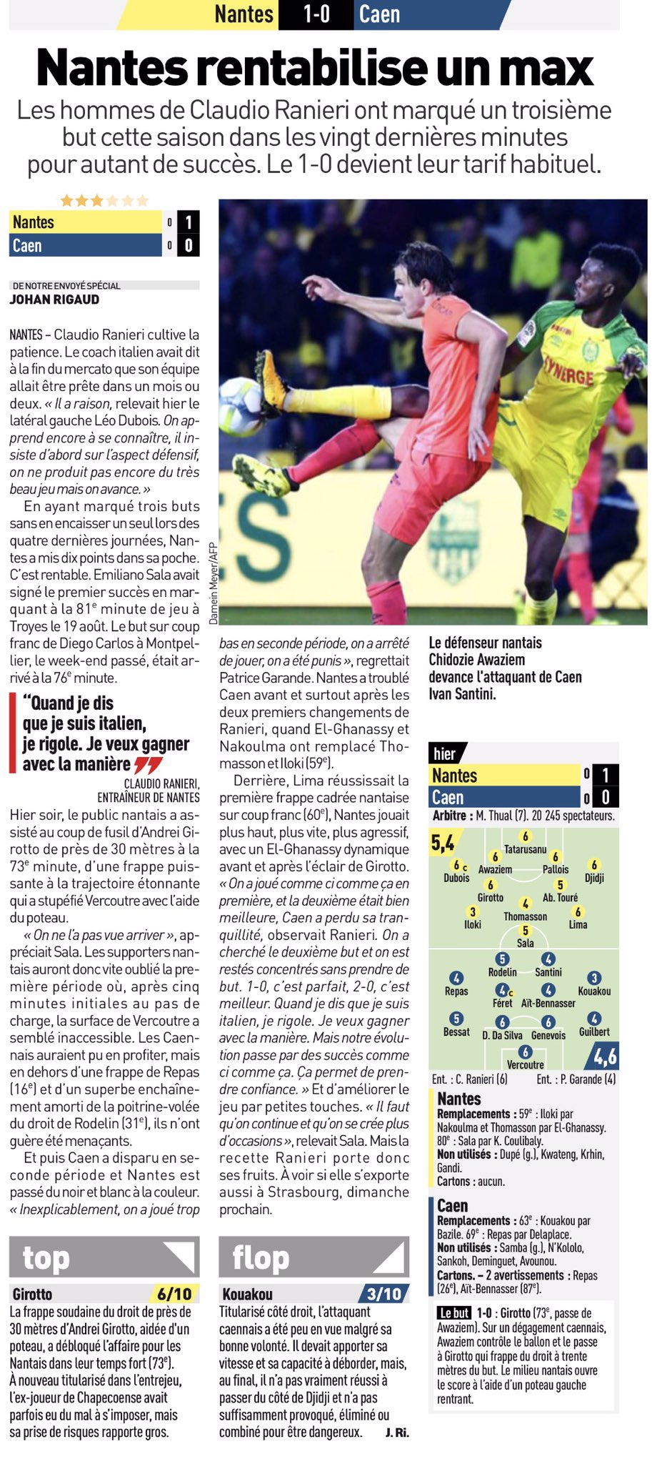 [6e journée de L1] FC Nantes 1-0 SM Caen - Page 2 DJ4qsBYWkAAQpSa