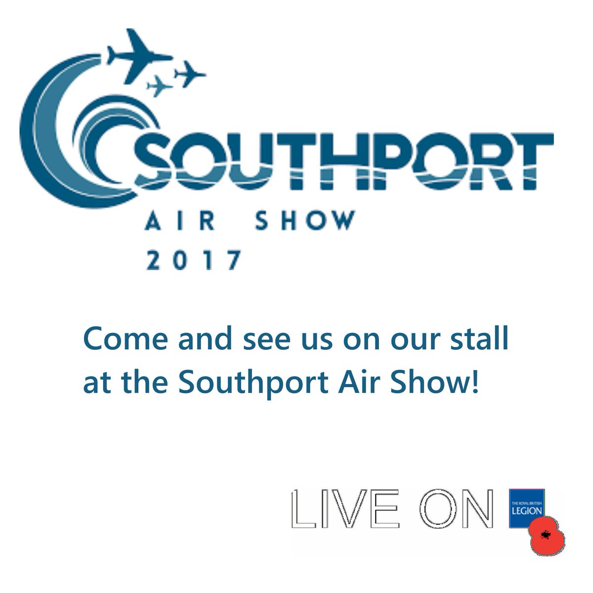 Come along and see us at our stall today at the Southport Air Show #royalbritishlegion #southportairshow #airshow #insouthport #bynghouse <br>http://pic.twitter.com/IBkkbuaT2f