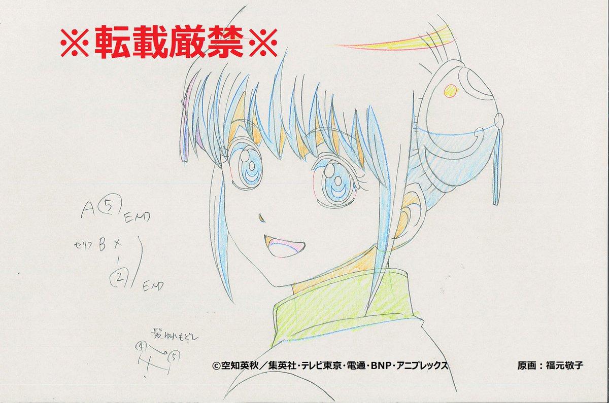 <放送まであと14日!>今日は現在鋭意制作中!のアニメ本編から先行カットをお届け!銀魂のヒロインと言…