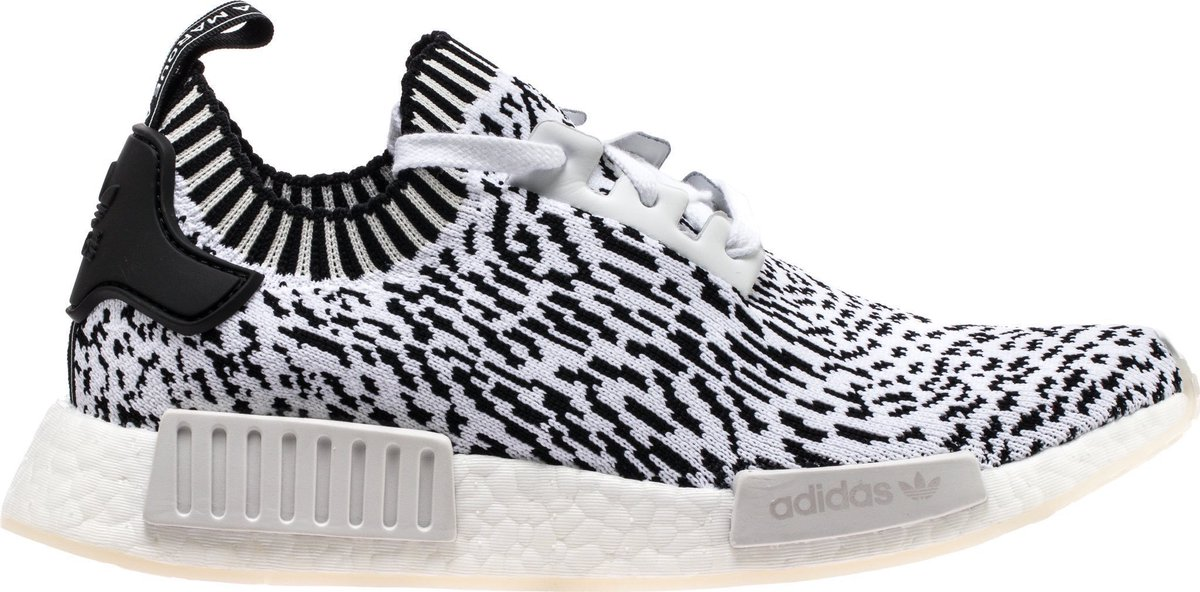 be9cba549 NMD R1 Primeknit Sashiko Pack Mens Running Shoe (White Black) FREE SHIPPING!