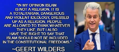 Geert Wilders: In My Opinion, Islam Is Not a Religion @geertwilderspvv    https://www. gatestoneinstitute.org/11009/geert-wi lders-in-my-opinion-islam-is-not#.Wb3h0QPcCug.twitter &nbsp; …   #terror #immigration #MAGA  #pvv<br>http://pic.twitter.com/Ucc1ZfYSOq