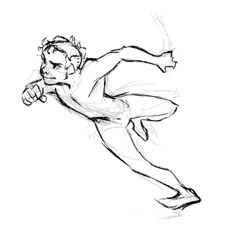 Russell On Twitter Reusing An Old Pose From An Old Drawing For An