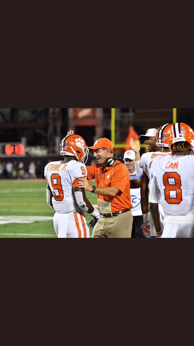 i love this man. not many would let almost every player play in this big of a game. amazing guy #clemsonfb #clemsonfamily #daboswinney<br>http://pic.twitter.com/L3Ixpb95qH