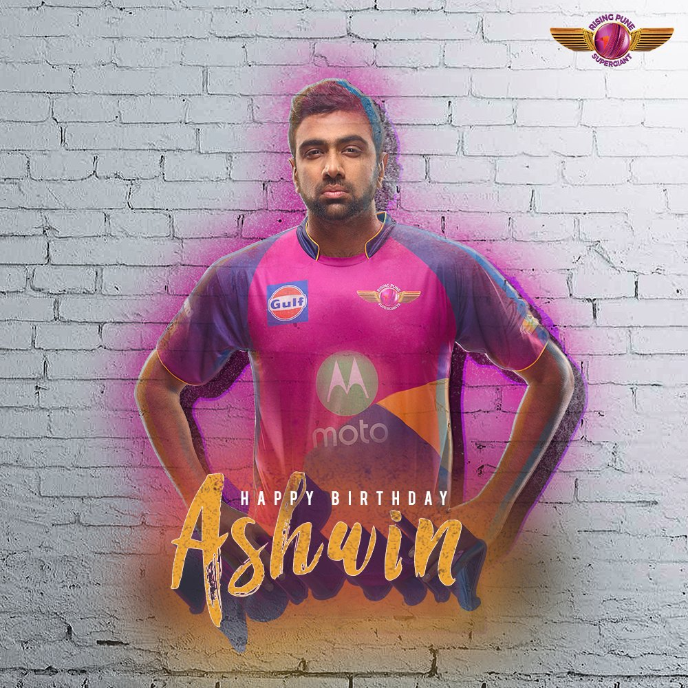 Happy Birthday to our spin king @ashwinravi99 🌪️