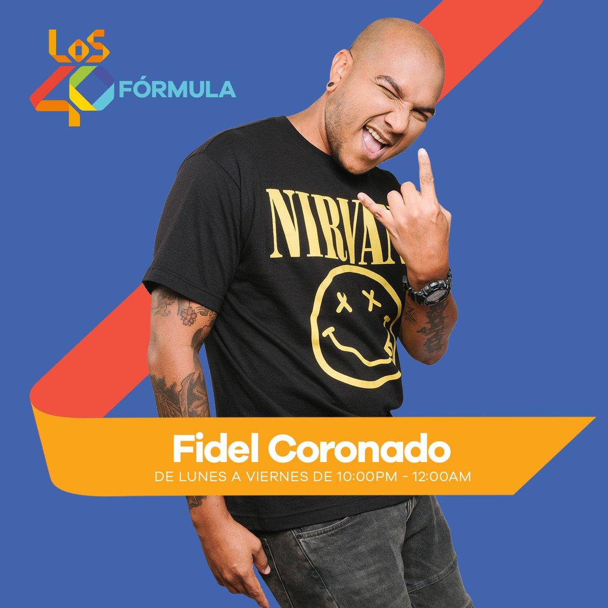 Sigue la #Formula40 con @djfidelcoronado Sintoniza Acá!