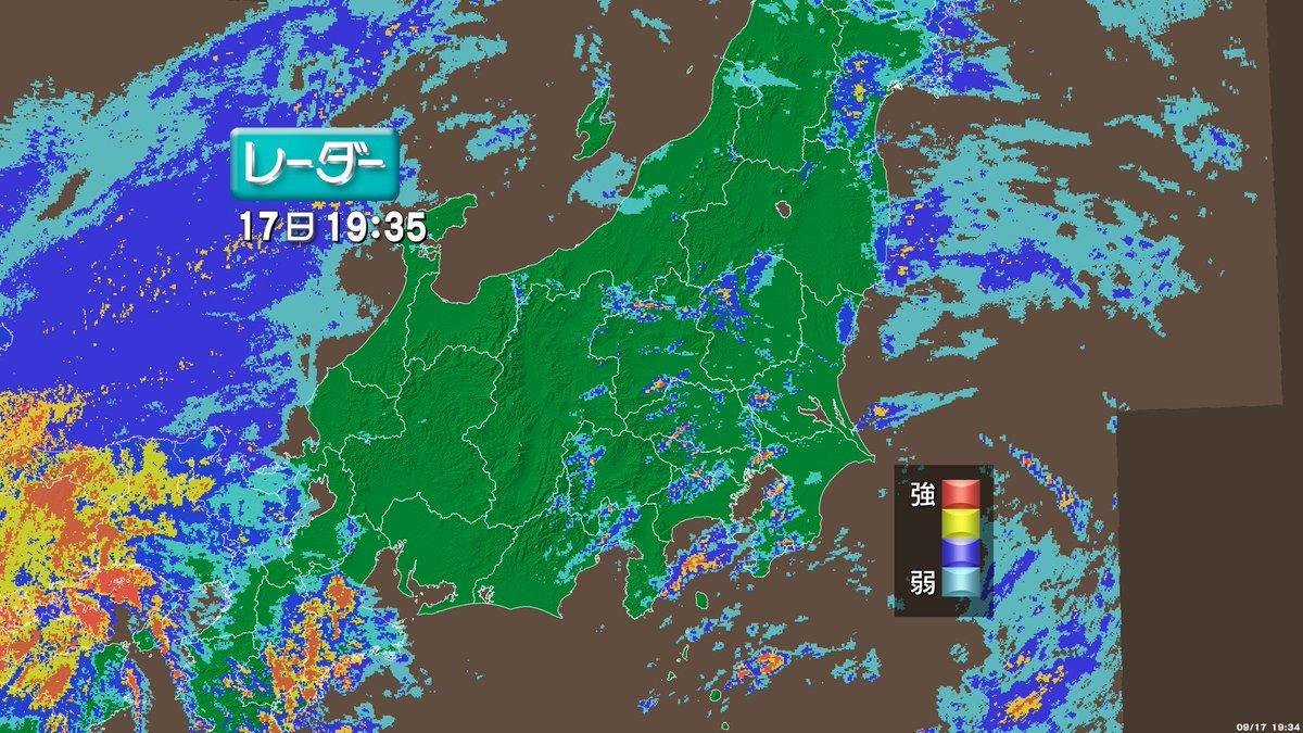 【関東地方の雨風は?】関東地方はこのあと沿岸部を中心に雨風が強まり、局地的には非常に激しい雨が降りそ…