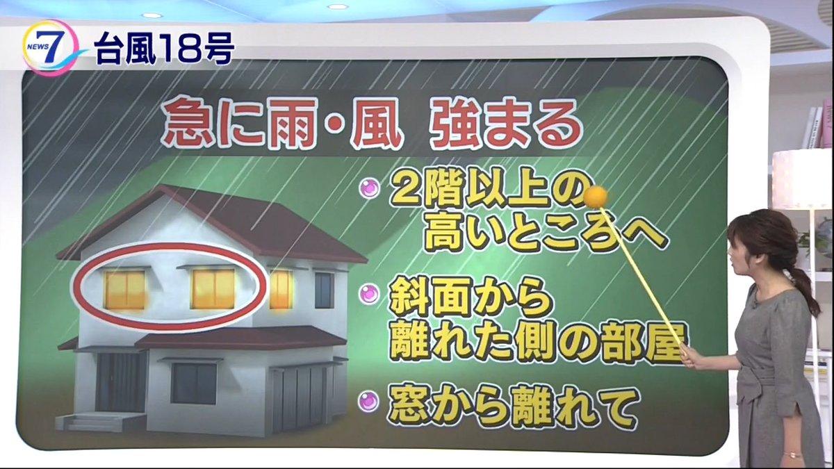 【#台風18号 夜の備えを万全に】 避難が困難な場合は建物高いところに移動するのも手段です具体的には…