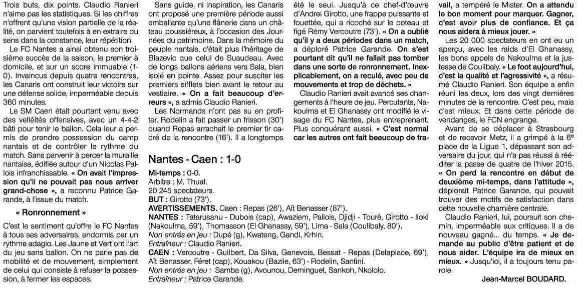 [6e journée de L1] FC Nantes 1-0 SM Caen - Page 2 DJ6HSctXcAAoIEH