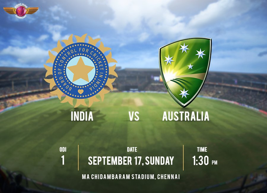 India kick off their home season with today's ODI against Aus. Can 🇮🇳 start with the right foot forward? Tweet your predictions #IndvAUS