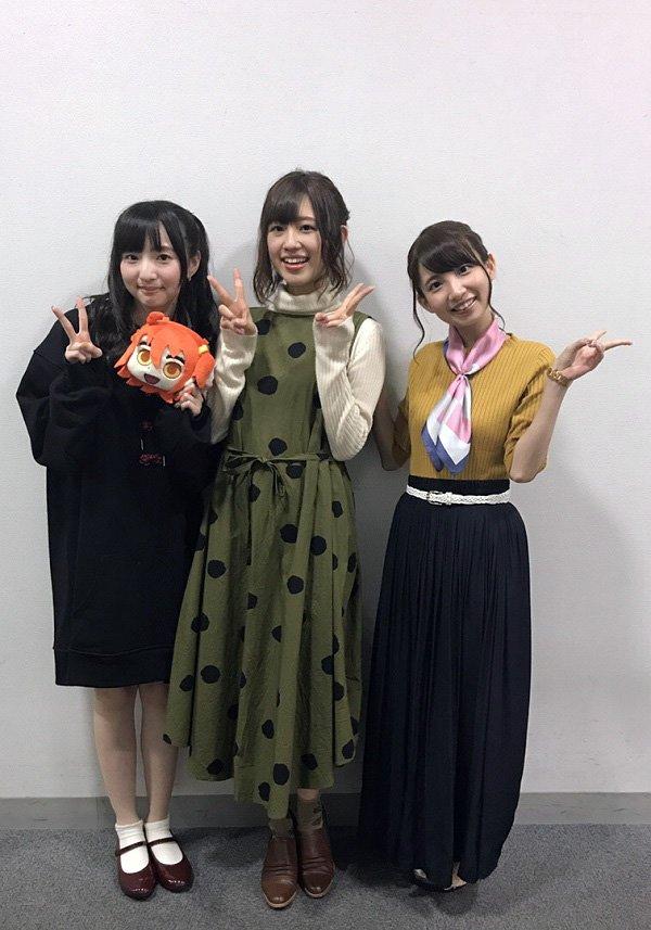 【カルデア広報局より】本日の「Fate/Grand Order」ゲストトーク in 京まふ 2017 をご観覧いただいた皆様、ありがとうございました!イベント終了後の出演キャスト皆様の記念写真をお届け! #FateGO pic.twitter.com/gQ7Om849NI