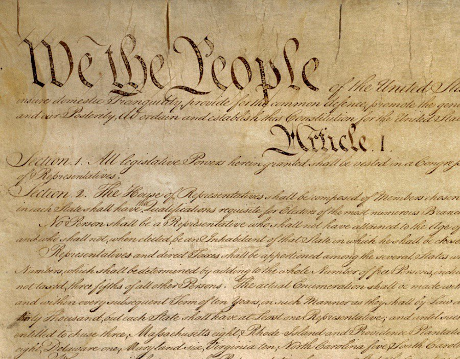 Constitution of the United States was signed at Philadelphia 230 years ago today: