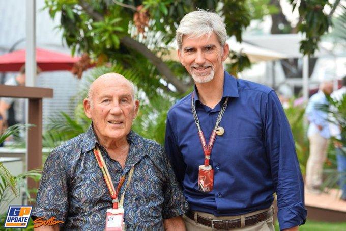 Happy Birthday to Sir Stirling Moss (88), Damon Hill (57) and Esteban Ocon (21)!