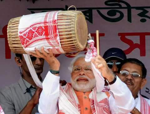 Happy birthday Narendra Modi ji. May God give you good health & a long active life to serve our motherland.