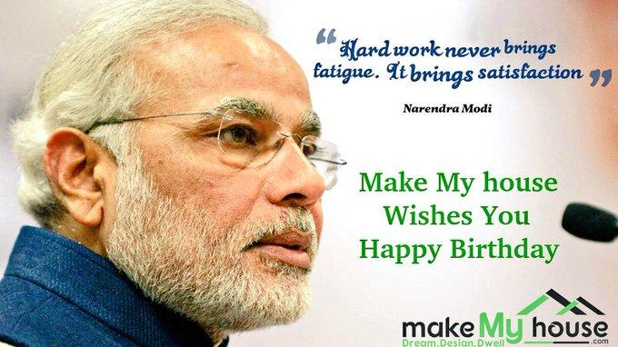 Happy Birthday Shri Narendra Modi Ji Duniya ki saari khushiyaan aapko mila