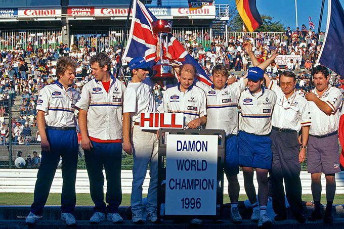 Happy  1996 champion